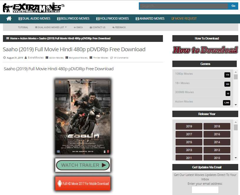 Download bollywood movies at extramovies