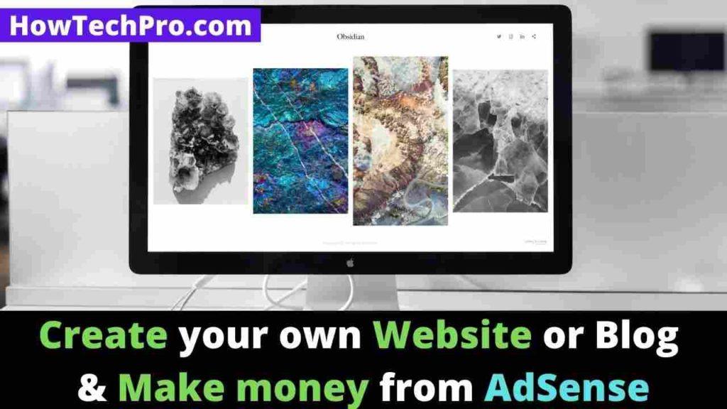Make money from Google using adsense